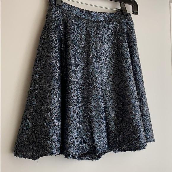 Topshop Dresses & Skirts - Sequin topshop zip skirt